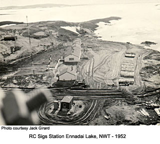 Ennadai RCSigs station 1952