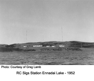 RC Sigs Station Ennadai Lake Summer 1952