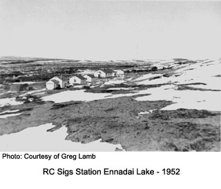 RC Sigs Station Ennadai Lake Winter 1952