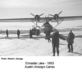 Austin Airways Canso, Ennadai Lake