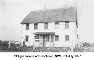 RCSigs Station Fort Resolution